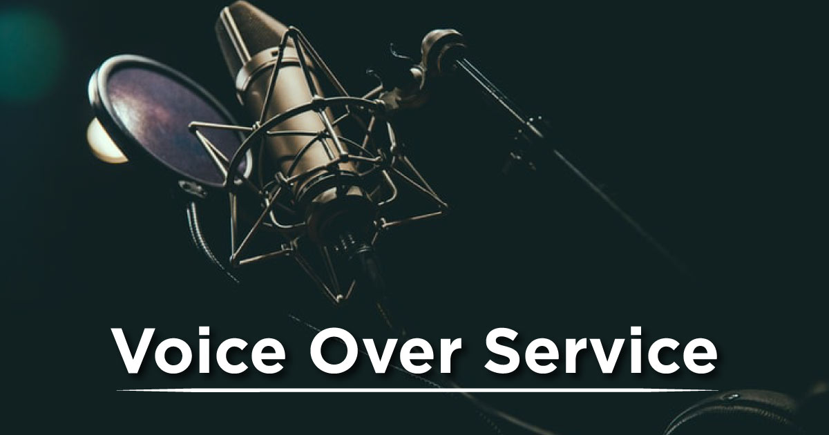 Voice Over Service in Pakistan