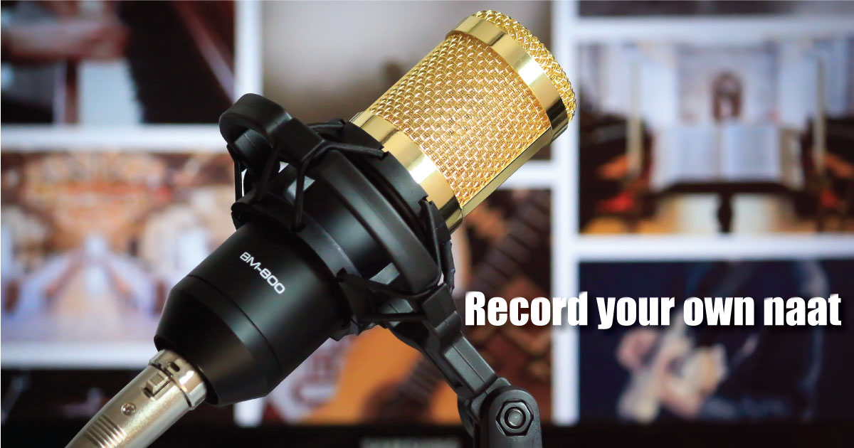 record your own naat